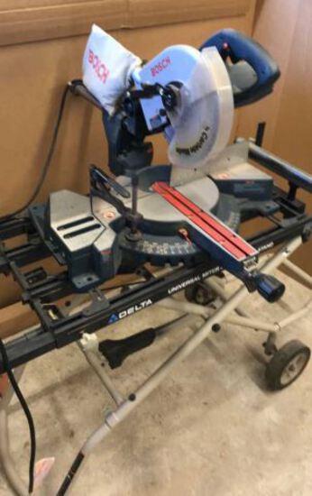 """Bosch 10"""" Slide Compound Miter Saw,"""