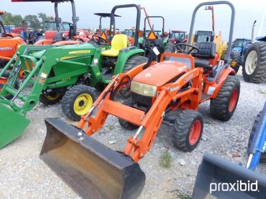KIOTI CK20 4WD/LDR/E19400229/288HRS KIOTI KL120 LOADER