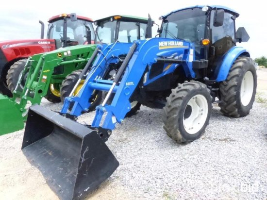 NEW HOLLAND T4 75 4WD/CHA/LDR/    Auctions Online | Proxibid