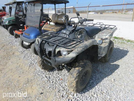 YAMAHA GRIZZLE 4 WHEELER AUTO/4WD 2943 HRS PWR STEERING/W/BOS