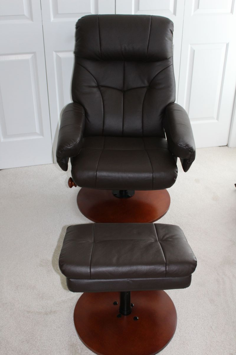 Pleasant Nice Swivel Recliner With Matching Ottoman Made By Short Links Chair Design For Home Short Linksinfo