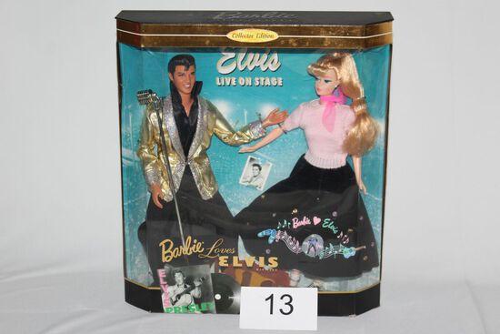 "1996 ""Elvis Loves Barbie"" Gift Set"