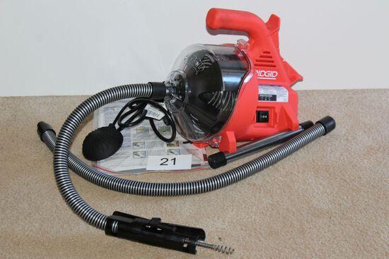 """Rigid """"Power Clear"""" 450 RPM Drain Cleaner"""
