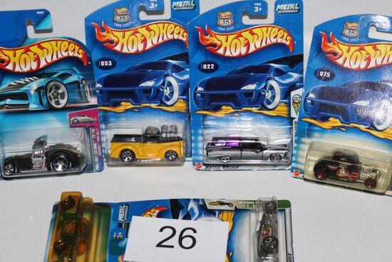 2002 & 2003 Hot Wheels In Original Package