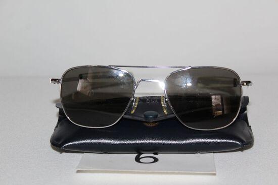 Randolph Engineering 5 1/2 USA Sunglasses W/Original Case
