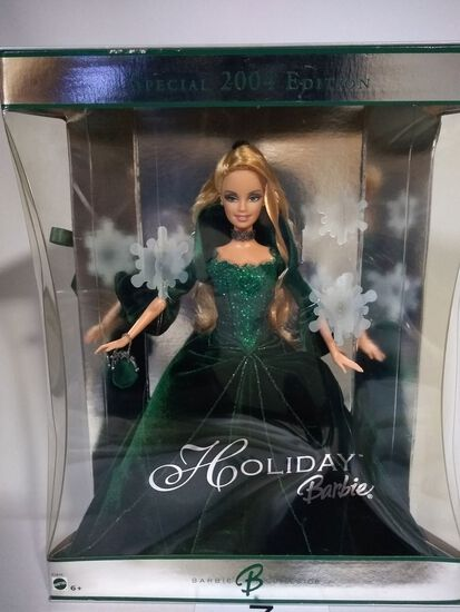 """2004 """"Special Edition"""" Holiday Barbie"""
