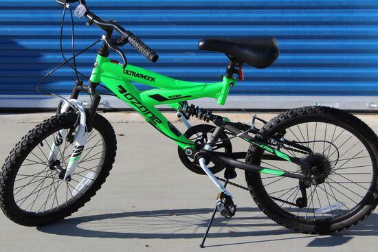 "OZONE ""500 Ultrashock"" 7 Speed 20"" Bicycle"