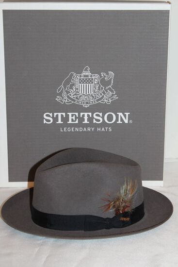 "Stetson ""Dobbs"" Hat W/Original Box & Paperwork From The Royal Stetson Collection"