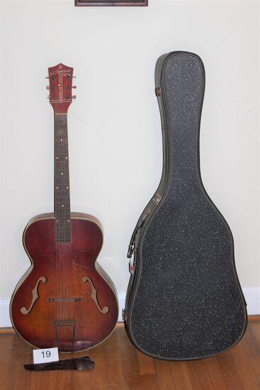 1940's SS Stewart Archtop Guitar W/Case