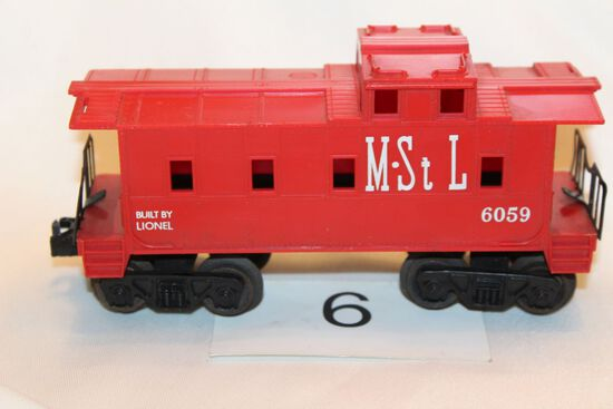 1960's Lionel Minneapolis & St. Louis #6069 Caboose