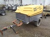2012 ATLAS COPCO XAS185JD7, 185 CFM Portable Air Compressor, s/n 4500A1017C