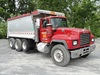2000 MACK Model RD688S Tri-Axle Dump Truck, VIN# 1M2P270C7YM054665, powered