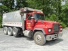 2000 MACK Model RD688S Tri-Axle Dump Truck, VIN# 1M2P270C6YM054673, powered