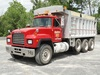 2000 MACK Model RD688S Tri-Axle Dump Truck, VIN# 1M2P270C3YM053268, powered
