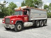 1997 MACK Model RD688S Tri-Axle Dump Truck, VIN# 1M2P270C6VM033253, powered
