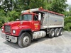 1997 MACK Model RD688S Tri-Axle Dump Truck, VIN# 1M2P270CXVM033255, powered