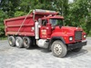 1999 MACK Model RD688S Tri-Axle Dump Truck, VIN# 1M2P267CXX043187, powered
