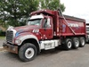 2014 MACK Model GU713 Tri-Axle Dump Truck, VIN# 1M2AX07C5EM020742, powered