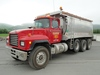 2000 MACK Model RD688S Tri-Axle Dump Truck, VIN# 1M2P270C5YM054681, powered