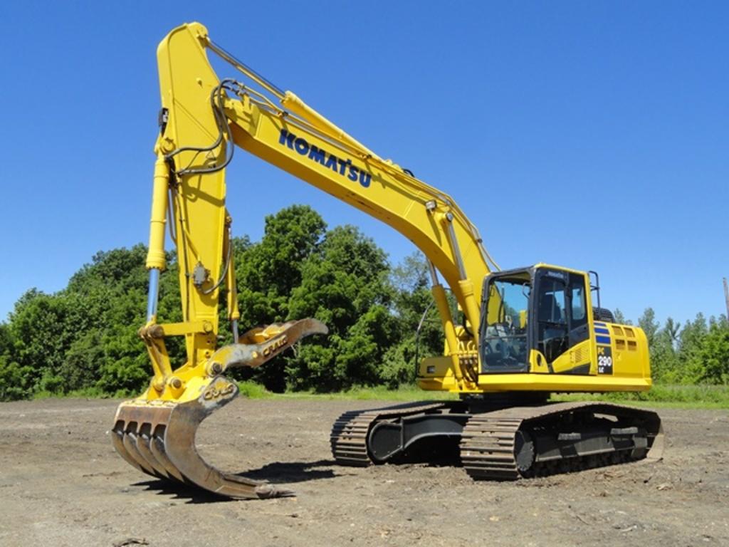 2014 KOMATSU Model PC290LC-10 Hydraulic Excavator, s/n A25571, powered by K