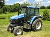 NEW HOLLAND Model TS100, 4x2 Utility Tractor, s/n Unknown, powered by New H