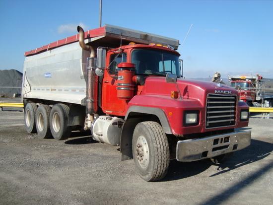 (Unit #7-59) 1997 MACK Model RD688S Tri-Axle Dump Truck, VIN# 1M2P270C8VM03