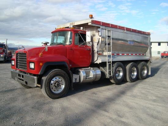 (Unit #7-80) 1999 MACK Model RD688S Tri-Axle Dump Truck, VIN# 1M2P270C0XM04