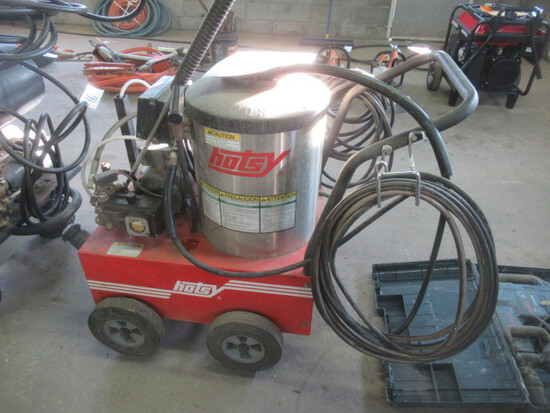 HOTSY 555SS Hot Water Electric Pressure Washer (RUNS-GOOD)