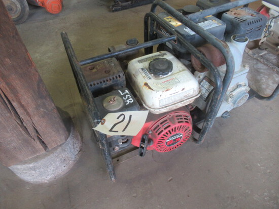 "(2) 2"" Gas Powered Centrifugal Pumps (JSR) (BOTH RUN)"