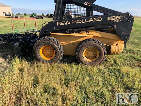 New Holland LX885 Skid Steer, Serial No. 113249
