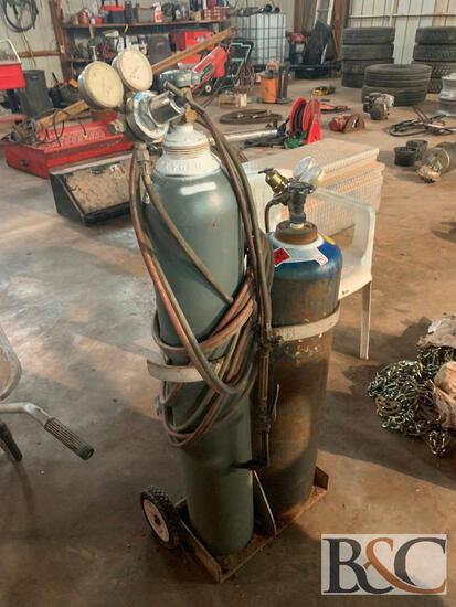 Cutting Torch Kit w/ Cart