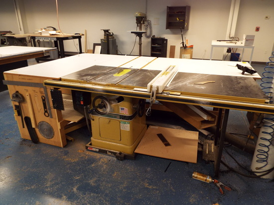 Powermatic Table Saw  Model 66    Industrial Machinery