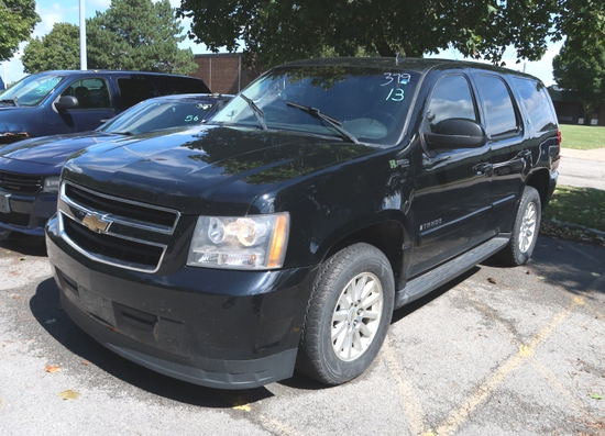 07 Chevrolet Tahoe  Subn BK 8 cyl  Started on 9/8/21 AT PB PS R AC PW VIN: 1GNFK13518R245065; Defect