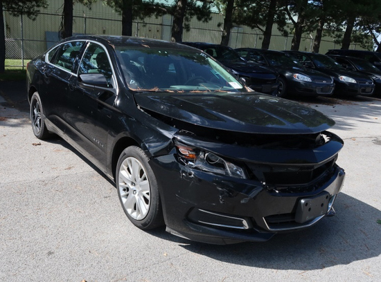 17 Chevrolet Impala  4DSD BK 6 cyl  Started w Jump on 9/8/21 AT PB PS R AC PW VIN: 2G11X5S39H9153586