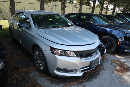 17 Chevrolet Impala  4DSD GY 6 cyl  Started w Jump on 9/8/21 AT PB PS R AC PW VIN: 2G11X5S34H9154841