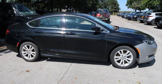 16 Chrysler 200  4DSD BK 6 cyl  Started on 9/8/21 AT PB PS R AC PW VIN: 1C3CCCAG9GN151499; Defects: