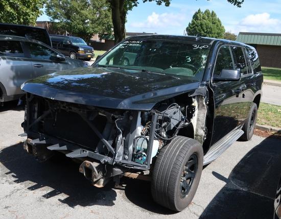 15 Chevrolet Tahoe  Subn BK 8 cyl  4X4; Did not Start 9/8/21 AT PB PS R AC PW VIN: 1GNSK2EC5FR628049