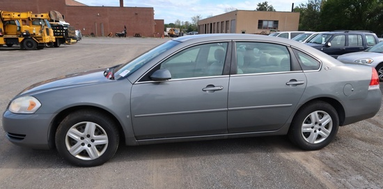 07 Chevrolet Impala  4DSD GY 6 cyl  Started w Jump on 9/21/21 AT PB PS R AC PW VIN: 2G1WB58KX7934910