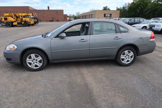 07 Chevrolet Impala  4DSD GY 6 cyl  Started w Jump on 9/21/21 AT PB PS R AC PW VIN: 2G1WB58K57928167
