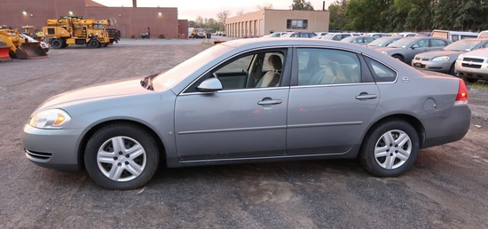 07 Chevrolet Impala  4DSD GY 6 cyl  Started on 9/21/21 AT PB PS R AC PW VIN: 2G1WB58K579283172; Defe