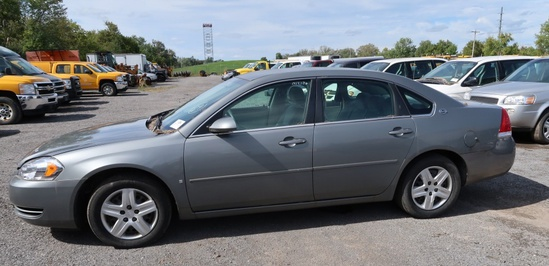 07 Chevrolet Impala  4DSD GY 6 cyl  Started w Jump on 9/21/21 AT PB PS R AC PW VIN: 2G1WB58K07927842