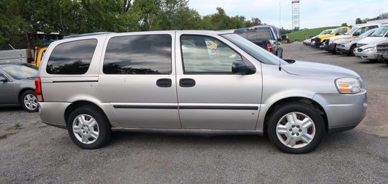 """""""07 Chevrolet Uplander  Subn GY 6 cyl  Started w Jump on 9/21/21 AT PB PS R AC PW VIN: 1GNDV23W67D16"""