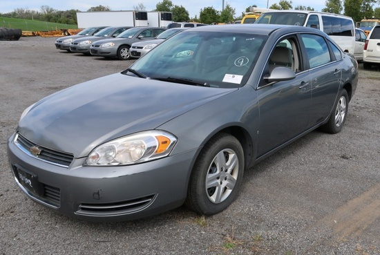 08 Chevrolet Impala  4DSD GY 6 cyl  Started on 9/21/21 AT PB PS R AC PW VIN: 2G1WB58KX81210329;; Sta