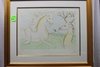 "Salvador Dali, The Rider and the Deer, lithograph, 15-1/2"" x 22-1/2"", numbe"