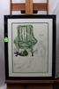 "Salvador Dali, Breathing Pneumatic Armchair, lithograph, 28"" x 20-3/4"", num"