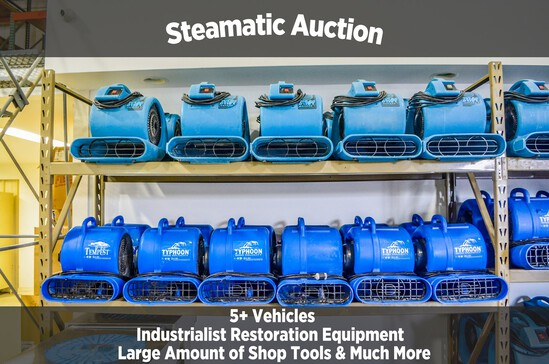 Steamatic Industrial Equipment Auction