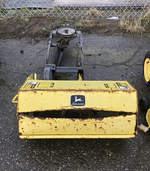 JOHN DEERE SNOWBLOWER ATTACHMENT