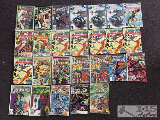 Marvel... 26 Assorted Spider-Man Comics