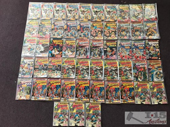 Marvel... Howard the Duck assorted issues