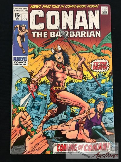 Marvel... Conan The Barbarian Issue No. 1